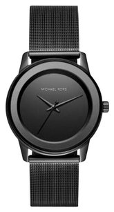 Michael Kors MK6296 MICHAEL KORS KINLEY BLACK TONE STEEL ION MESH BAND WOMENS WATCH