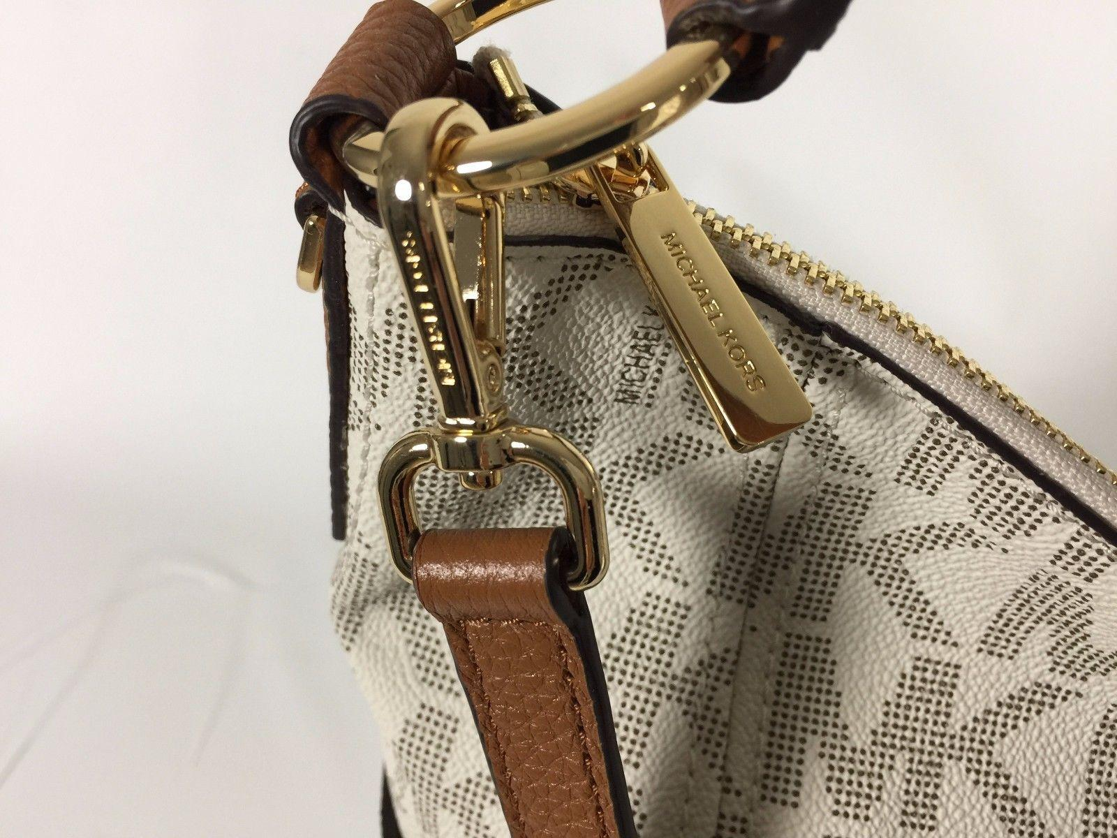 362575075460 ... hot michael kors anita convertible mk crossbody strap shoulder bag.
