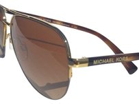 Michael Kors NEW* MICHAEL KORS AVIATOR Tortoise GOLD w Brown MK5008 SPERONE Rimless Sunglass