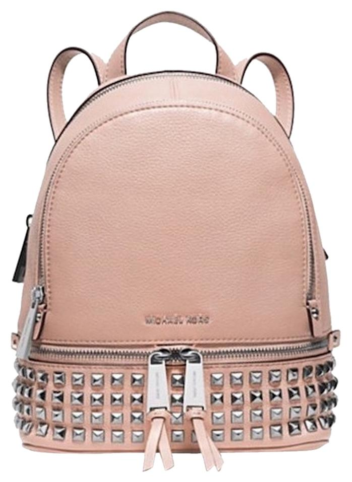 2c798d3feebd4 switzerland michael kors rhea small leather backpack ballet 5a49f 390df