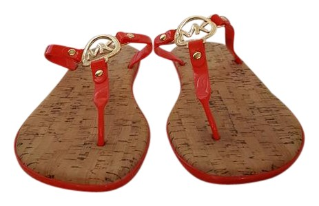 65c01c0985f8 Buy michael kors jelly cork sandals   OFF77% Discounted
