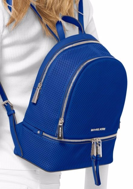 Rhea large backpack - Blue Michael Michael Kors G3ExQ
