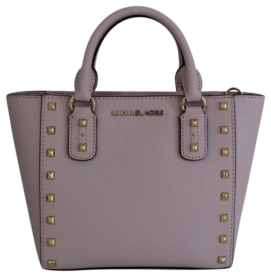 Michael Kors Satchel in Blossom/Gold ...