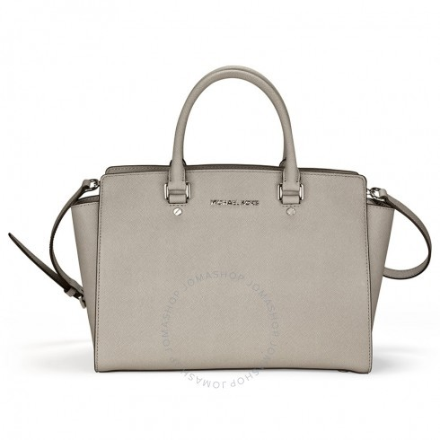 af4faee076c85 france michael kors cross body satchel in pearl grey ea3d2 f9844