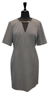 Michael Kors short dress Grey A8 Gunmetal on Tradesy