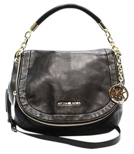 Michael Kors Black Gold Shoulder Bag