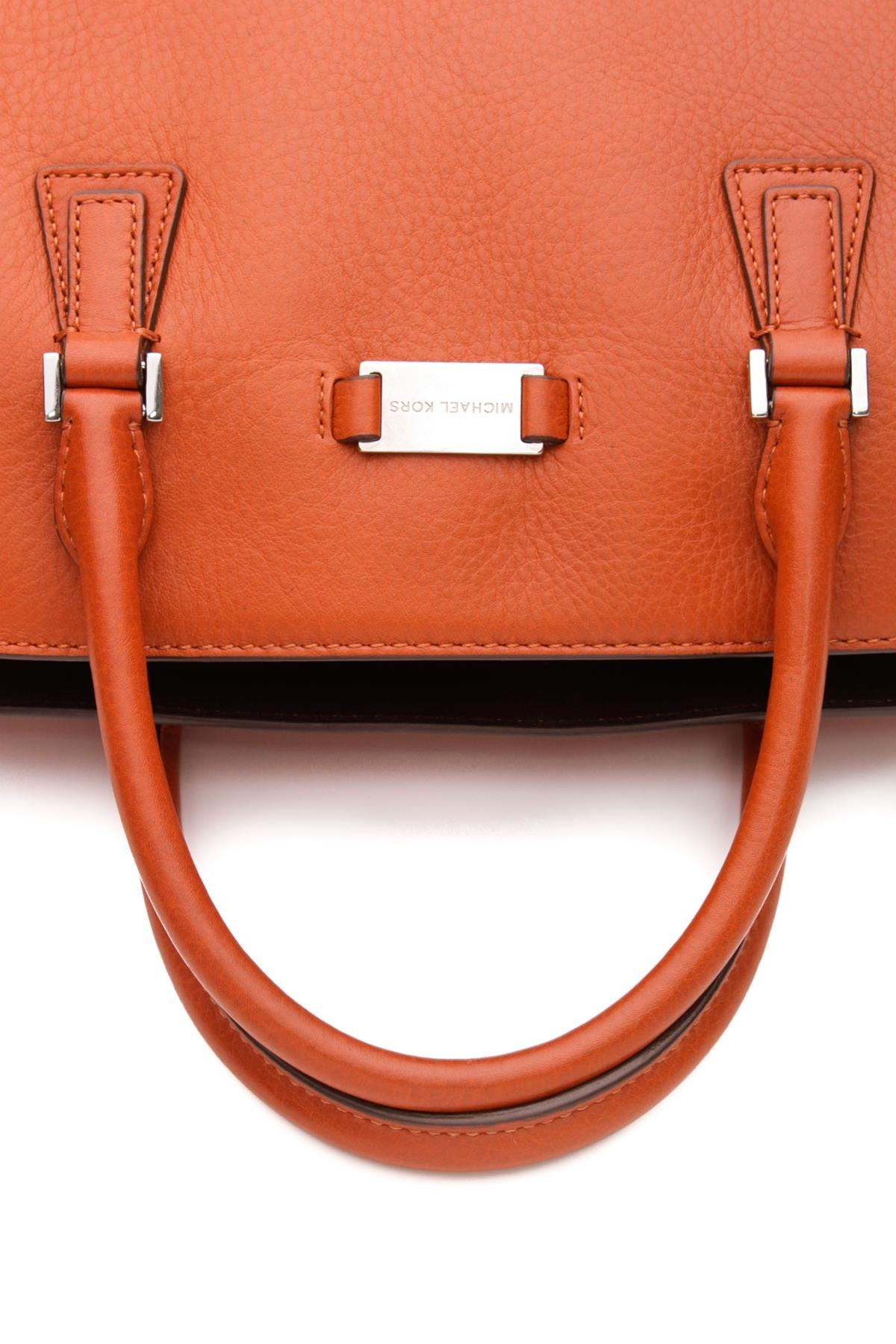 e5f67e2e61f936 sale michael kors calfskin leather gia satchel shoulder bag tradesy 6fb20  8b635