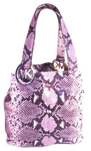 Michael Kors Snakeskin Shoulder Bag