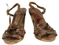 Michael Kors Womens Brown Sandals