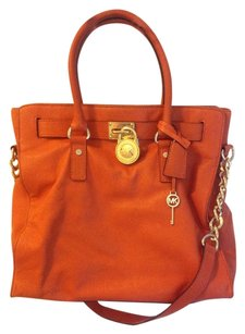 Michael Kors Tote in Burnt Orange