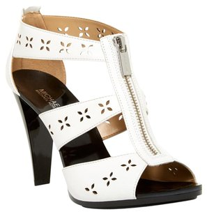 Michael Kors White & Black Sandals