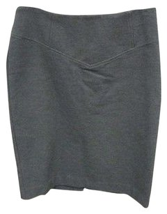 michael by michael kors A-line Mini Skirt Gray