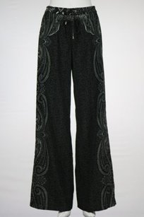 MICHAEL Michael Kors Womens Paisley Casual Trousers Elastic Pants