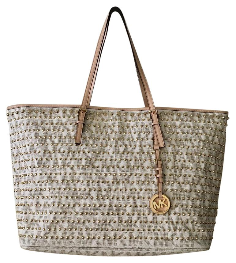 fdfaddc38b62a9 ... germany michael michael kors tote in vanilla ae217 2cb17