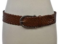 MICHAEL Michael Kors Michael Michael Kors Womens Tan Woven Belt Leather Casual