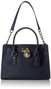 MICHAEL Michael Kors Hamilton East Satchel in Navy