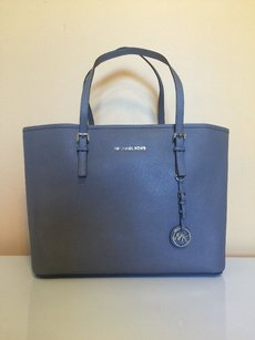MICHAEL Michael Kors Steel Grey Jet Shoulder Bag