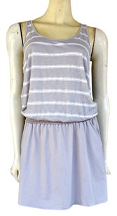 Michael Stars short dress Gray Jersey Blouson Mini on Tradesy