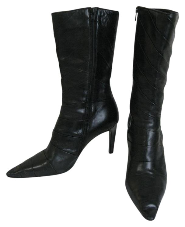 Michel Perry Leather Boots