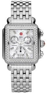 Michele Deco Day Mother of Pearl Stainless Steel Ladies Watch mw06p01a1046