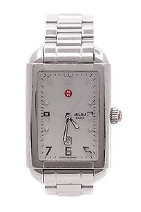 Michele Michele Stainless Steel Milou Park Womens Watch
