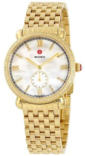Michele MWW26A000009 Gracile Diamond Mother of Pearl Dial Ladies Watch
