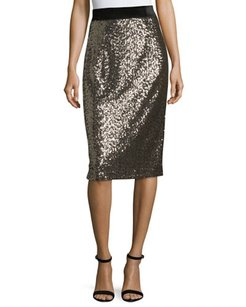 MILLY Skirt Antique Gold