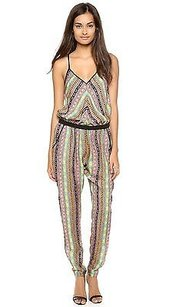 MILLY Multi Colored Racer Dress