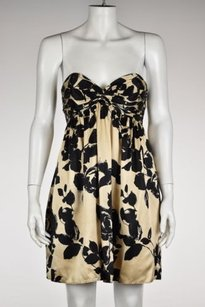Milly of New York Womens Floral Above Knee Sheath Dress