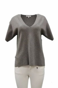 MILLY Knit Short Sleeve Sweater