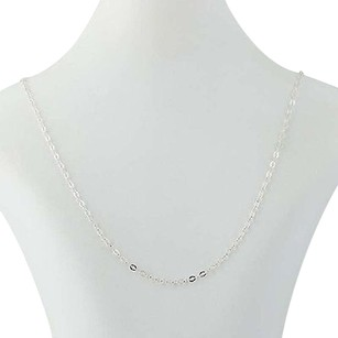 Milor Milor Modified Cable Chain Necklace 24 - Sterling Silver Womens