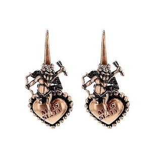 Miss Sixty Miss Sixty Orecchini Collection Cupid With Heart Bronze Ladies Earrings
