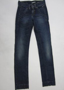 Miss Sixty Dark Wash Casual Straight Leg Jeans
