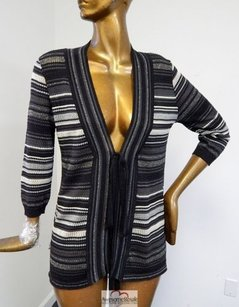 Missoni Black Metallic Knit Sweater