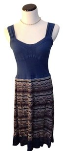 Missoni short dress Multi/blue on Tradesy
