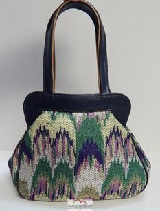 Missoni Italy Vintage Satchel in Multi-Color