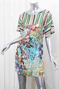 Missoni short dress Multi-Color Womens Colorful on Tradesy
