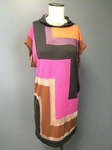 Missoni short dress Multi-Color Geo Pattern Cap on Tradesy