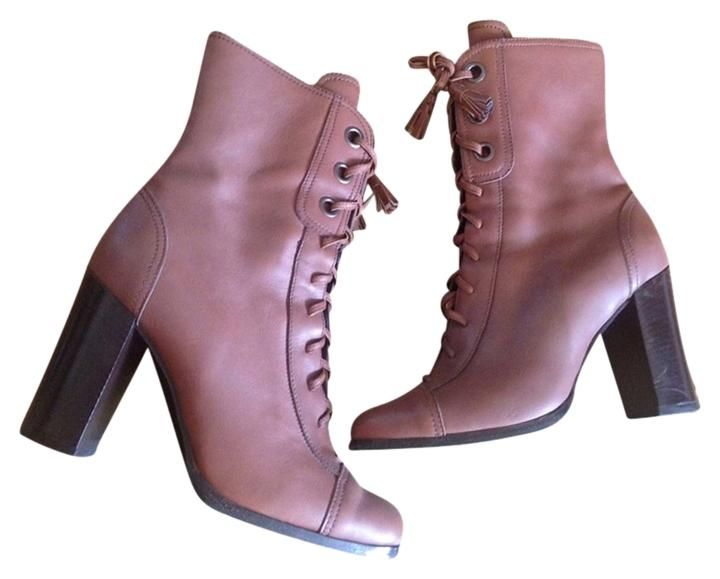 Miu Miu Leather Lace-Up Booties outlet visit new cheap extremely outlet free shipping cheap real perfect cheap price qBiKkOC