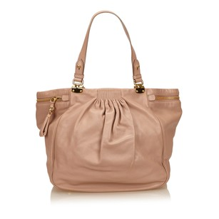 Miu Miu Leather Others Pink 6jmmsh004 Shoulder Bag