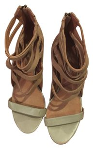 MLE Mia Limited Edition nude Wedges