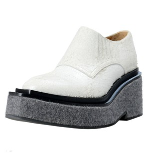 MM6 Maison Martin Margiela Ankle Off Off White/Gray Boots