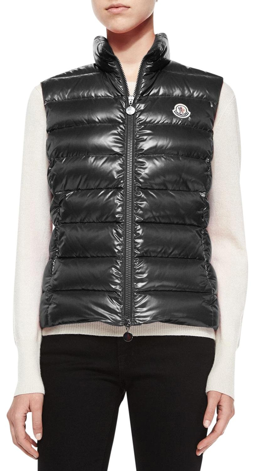 Moncler Ghany Quilted Puffer Vest ...