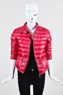 Moncler Cherry Channeled Coat