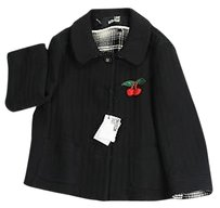Moschino Womens black Jacket