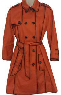 Moschino Orangetrench Summer Spring Trench Coat