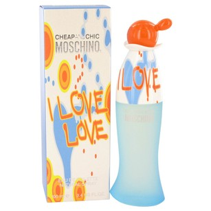 Moschino I LOVE LOVE CHEAP and CHIC by MOSCHINO EDT Spray ~ 3.4 oz / 100 ml