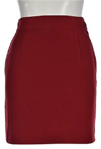 Moschino Cheap And Chic Skirt Red