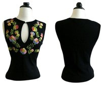 Moschino Cheap And Chic Floral Shirt Sweater