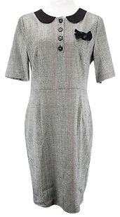 Moschino short dress gray Geometric Womens on Tradesy
